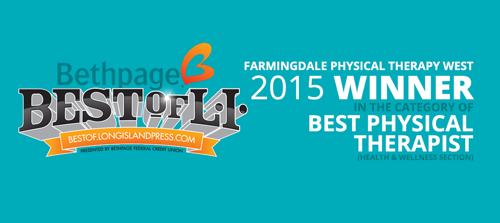Best of Long Island 2015 Winner Farmingdale Physical Therapy West